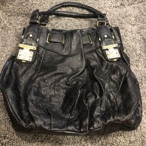 Leather juicy purse